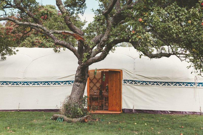 Cheltenham Yurt Hire - Long Yurt