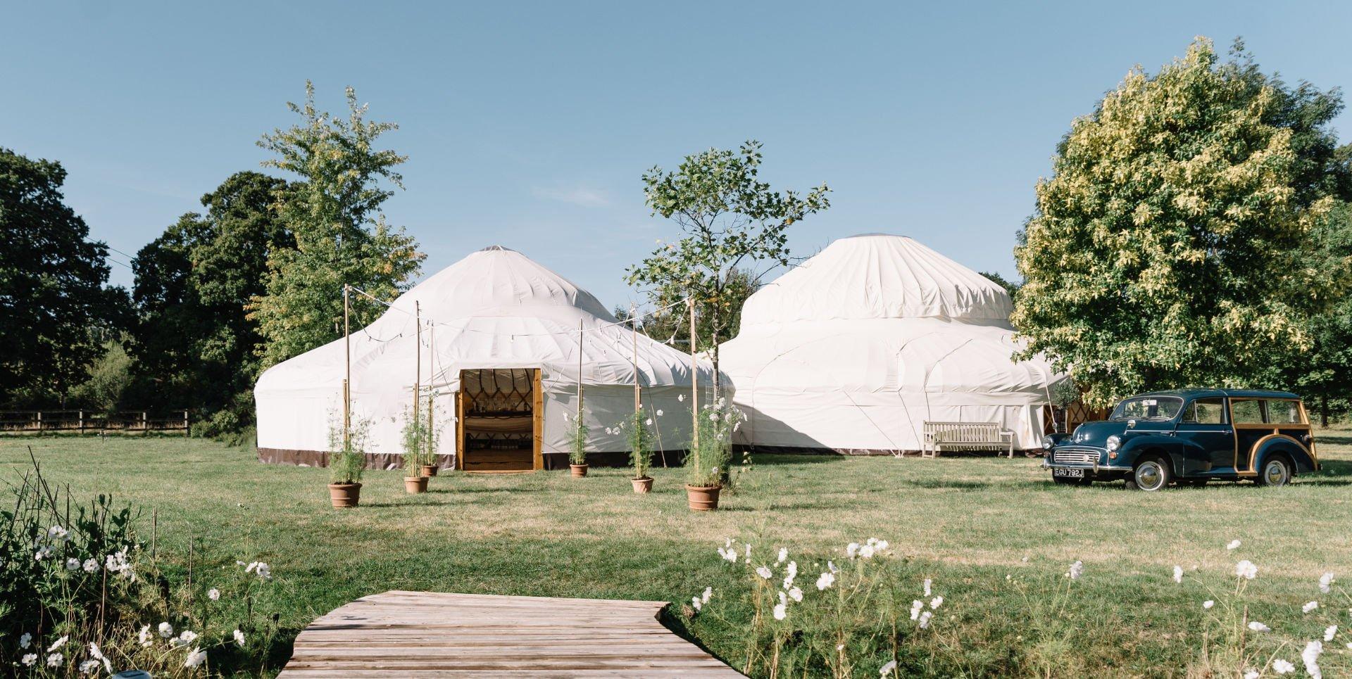 Cheltenham Yurt Hire - Wedding Yurt Hire